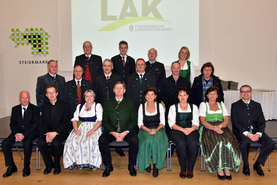 Küchen Graz Umgebung ~ ehrungsfeier für mitglieder des bezirkes graz umgebung steiermärkische landarbeiterkammer