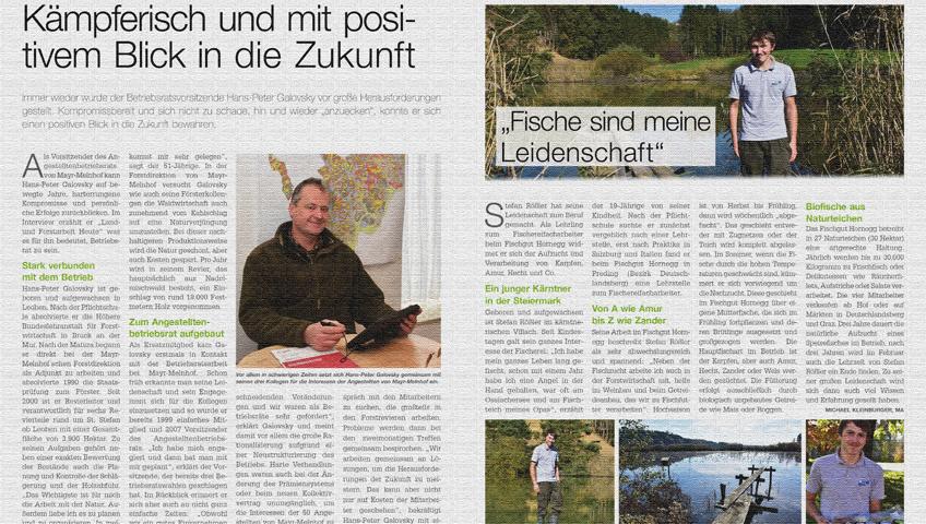Dezember-Ausgabe von Land- und Forstarbeit Heute