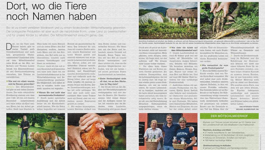 Juni-Ausgabe von Land- und Forstarbeit Heute