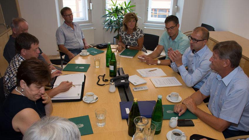 Konstituierende Sitzung der Wahlbehörde
