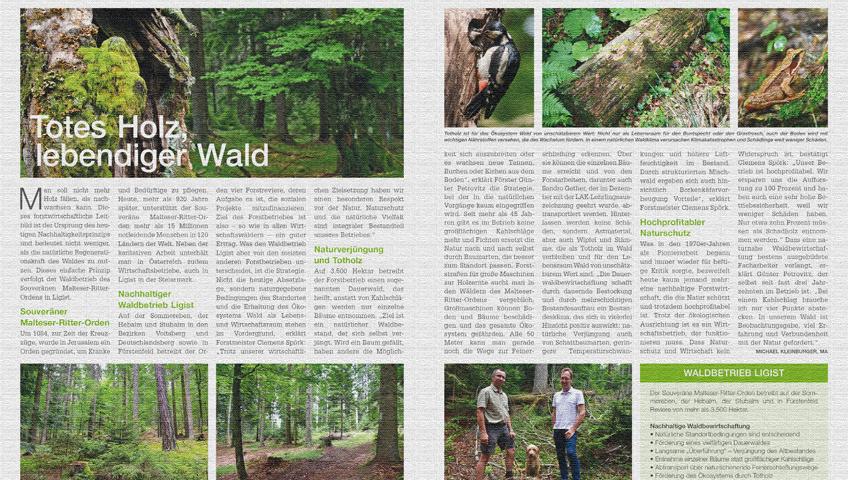 August-Ausgabe von Land- und Forstarbeit Heute