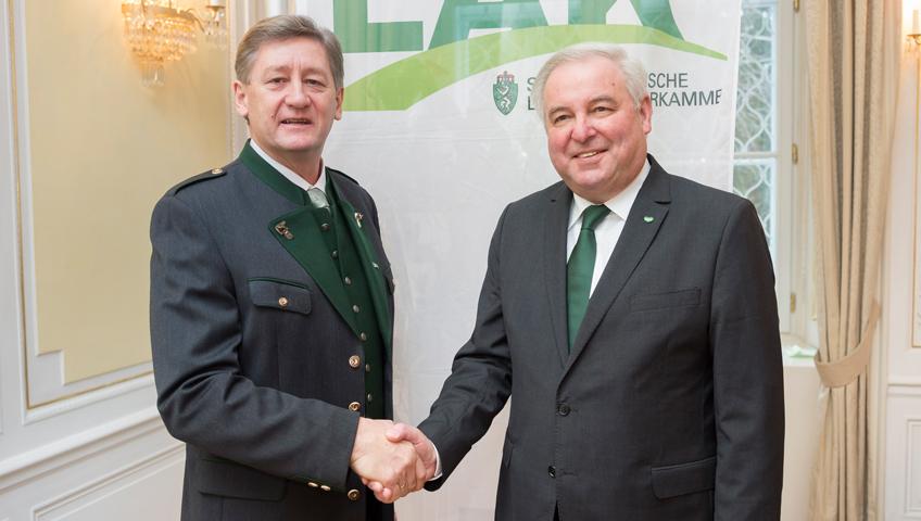 LAK-Vollversammlung: Eduard Zentner als Präsident angelobt